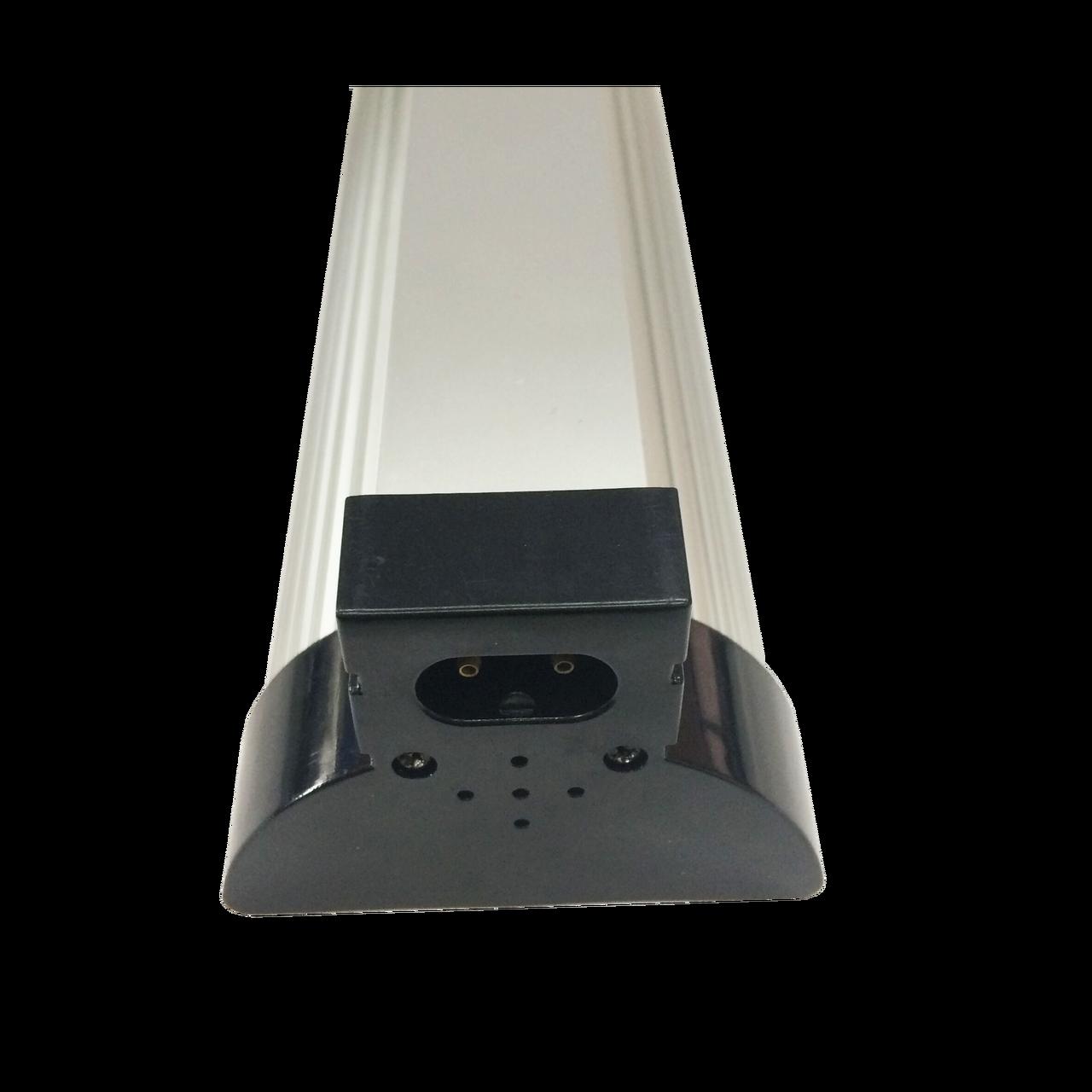FloraGear Flora LS48 LED Light Strip 6400k 48w - end view - can link up to 7 lights