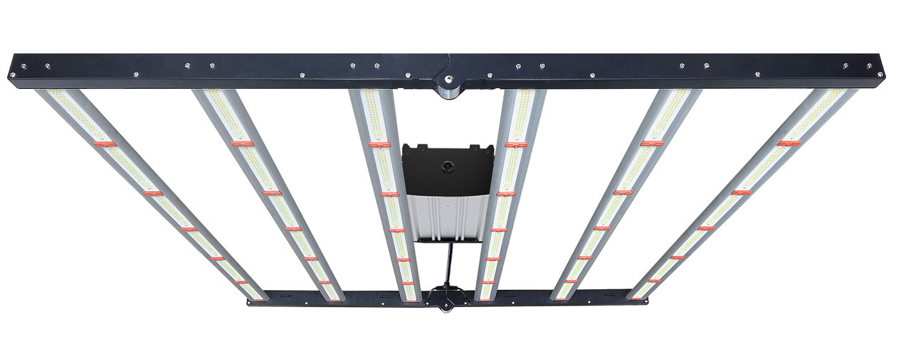 FLORA S6 PRO™ 630w Full-Spectrum LED Grow Light with Built-In Dimmer