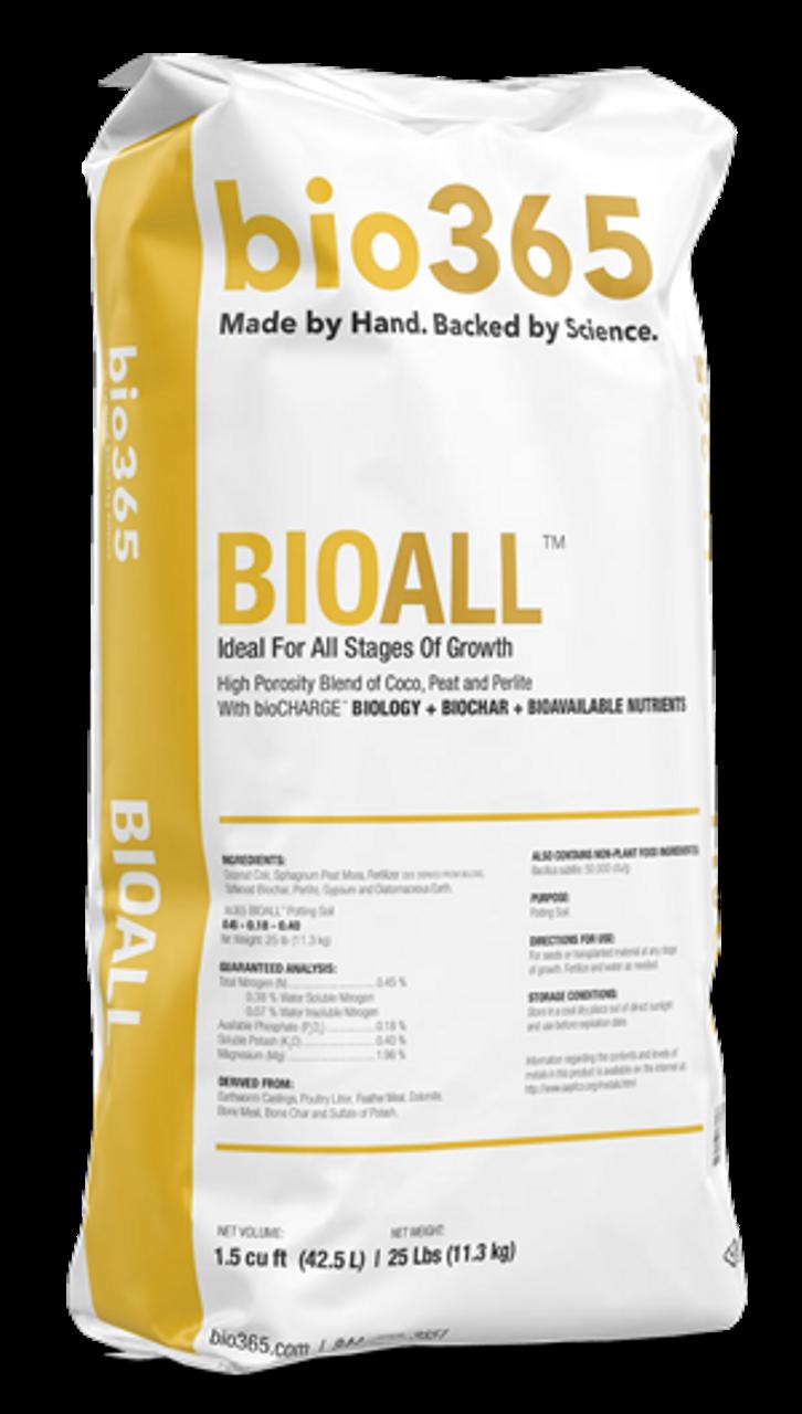 Bio365 BioAll Soil 1.5 cf | 9.6 dry gal