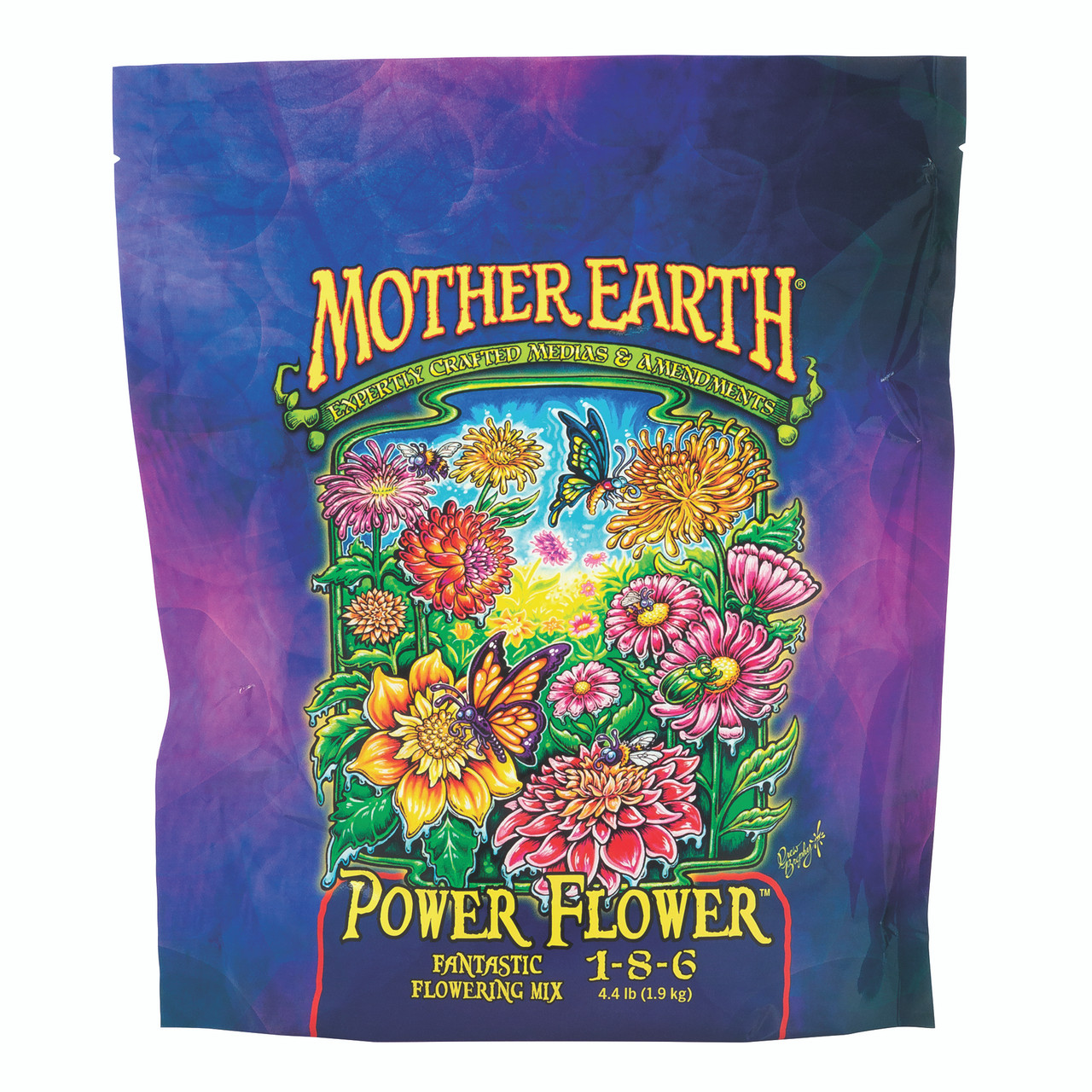 Mother Earth Power Flower Fantastic Flowering Mix 1-8-6 Front