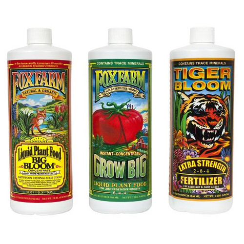 Fox Farm Trio Liquid Tri Pack 32oz