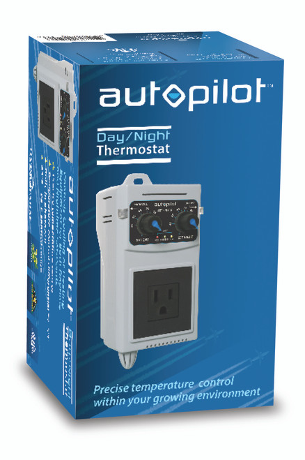 Autopilot Day & Night Cooling / Heating Thermostat Controller Box