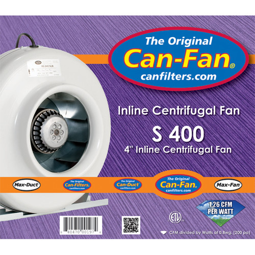 Can-Fan S Series 400 - Temperature control is a breeze! nehydro.com