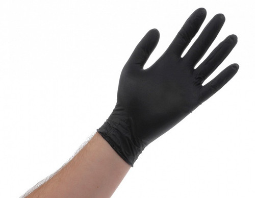 Black Lightning Gloves Large - Box of 100