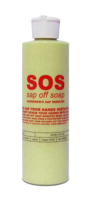 Aurora Innovations' SOS - Sap Off Soap is a unique and powerful hand and tool cleaning soap neHydro.com