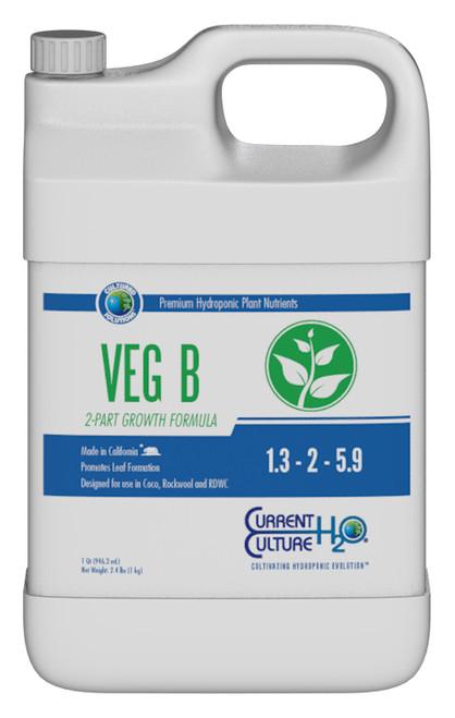 Cultured Solutions Veg B 2.5 Gallon