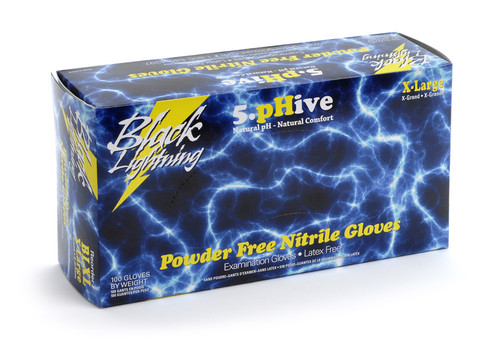 Black Lightning Gloves Medium - Box of 100