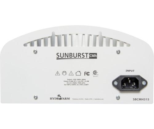 Sunburst CMH 120/240V w/Lamp, 315W, 4200K