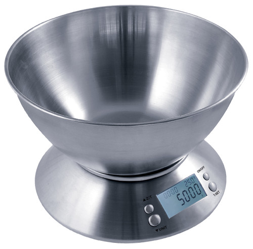 Measure Master Digital Scale w/ Bowl - 5000g