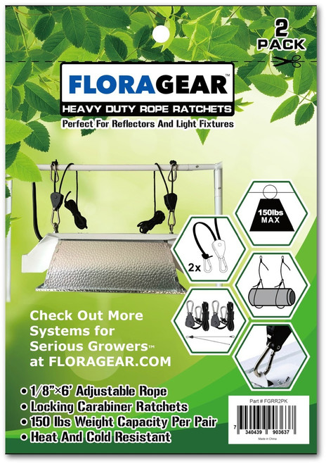 FLORAGEAR™ Rope Ratchets