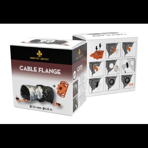 "Secret Jardin Kit Cable Flange 2.8"" Double Socks Box"
