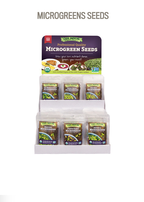 Microgreens Red Russian Kale Seeds (2021) 3oz