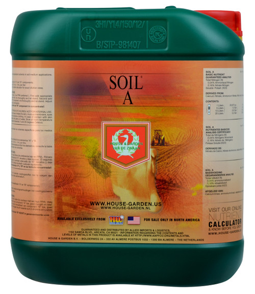 House and Garden Soil Nutrient A 10L