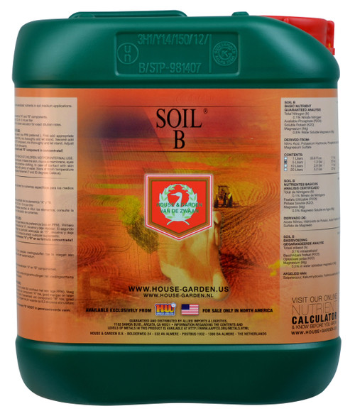 House and Garden Soil Nutrient B 10L