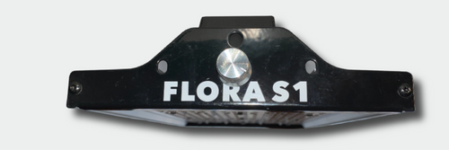 "FloraGear Flora S1 12"" x 6.5"" Full-Spectrum LED Grow Light with Built-In Infinite Control Dimmer 