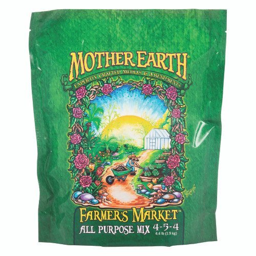 Mother Earth Farmer's Market All Purpose Mix 4-5-4 Front