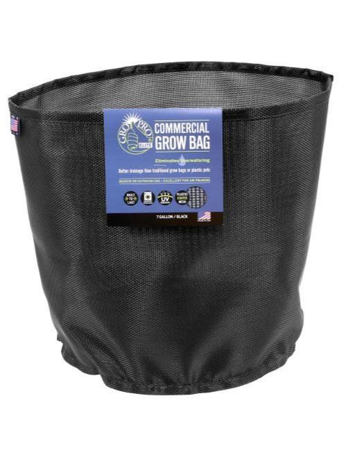 Gro Pro Elite Black Commercial Grow Bag   10 Gallon