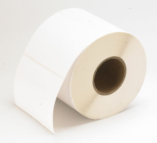 "TM-C3500 2.5"" x 100ft Inkjet Matte Tag Roll  - 819004"