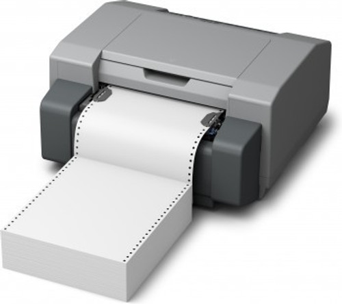 "GP-C831 7"" x 12.875"" Inkjet High Gloss Paper Labels 850/Carton  - 801014"