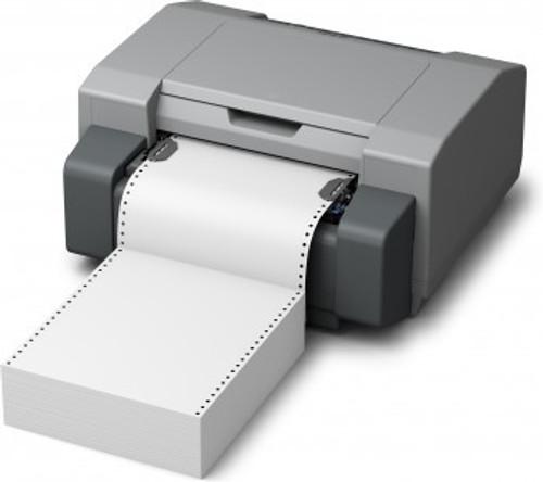 "GP-C831 7"" x 12.875"" Inkjet Matte Paper Labels 850/Carton  - 802012"