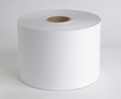 "CX1200 8.5"" x 1250ft Laser Premium Clear Gloss Polyester #3 Label Roll  - 57512"
