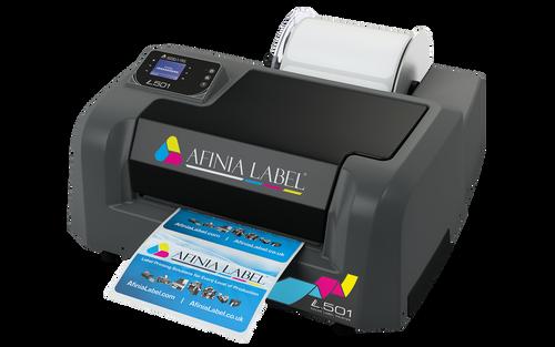 Afinia L501 Label Printer Duo Ink Pigment and Dye Bundle