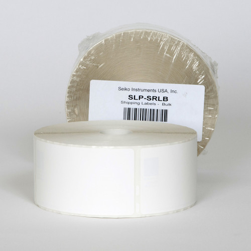 Seiko SLP620/650 2.125 x 4 White Shipping Inkjet Labels SLP-SRLB