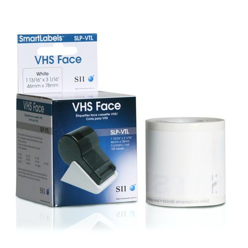 Seiko SLP620/650 1.8125 x 3.0625 White Media Inkjet Labels SLP-VTL