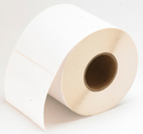 "LX810 2""x1"" White Gloss Polyester Labels 2,250/roll 75900"