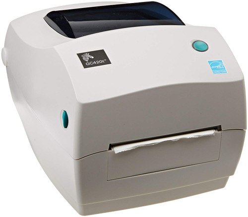 """Zebra GC420T 203 dpi Desktop Thermal Transfer Label Printer 4""""/USB"""