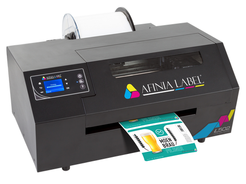 AFINIA L502 Color Printer - Pigment Ink for GHS BS5609 Labels