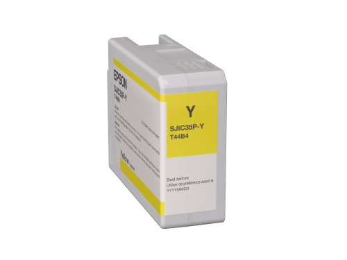 Epson SJIC35P(Y) C6000/C6500 Ink Cartridge - Yellow (C13T44B420)
