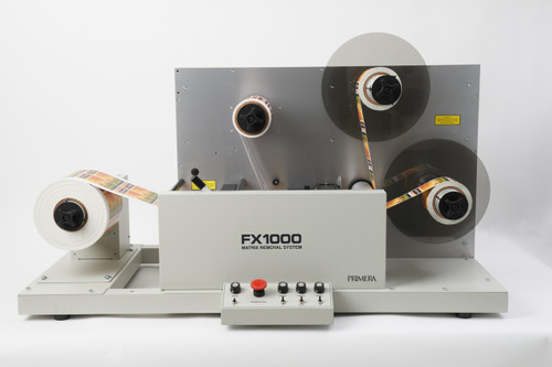 Primera FX1000 Maxtrix Removal System [dual take-up mandrel]