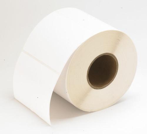 "TM-C3500 3"" x 1"" Inkjet (1A) High Gloss Paper Label 1070/Roll  - 811013"
