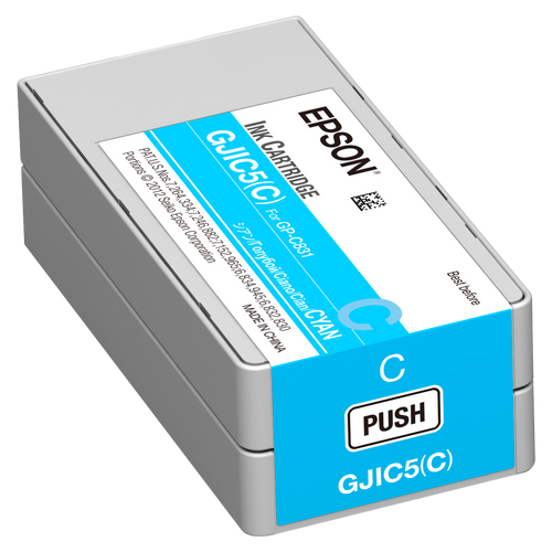 Epson GP-C831 Cyan Pigment Ink Cartridge|GJIC5| Epson Ink Cartridges