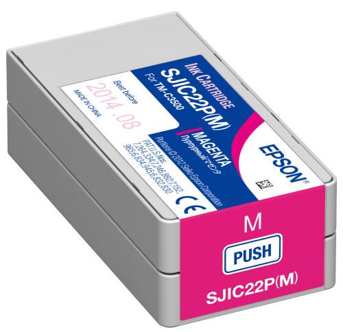 Epson TM-C3500 Magenta Pigment Ink Cartrigde|CJIC22P| Epson Ink Cartridges