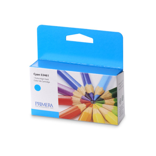 Cyan Pigment Ink Cartridge for Primera LX2000 GHS Label Printer