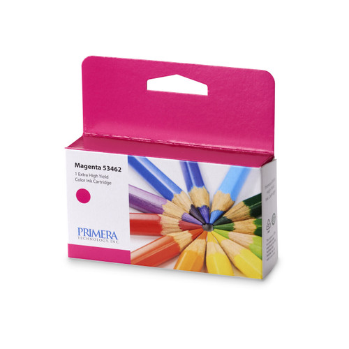 Magenta Pigment Ink Cartridge for Primera LX2000 GHS Label Printer