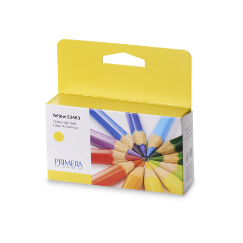 Yellow Pigment Ink Cartridge for Primera LX2000 GHS Label Printer