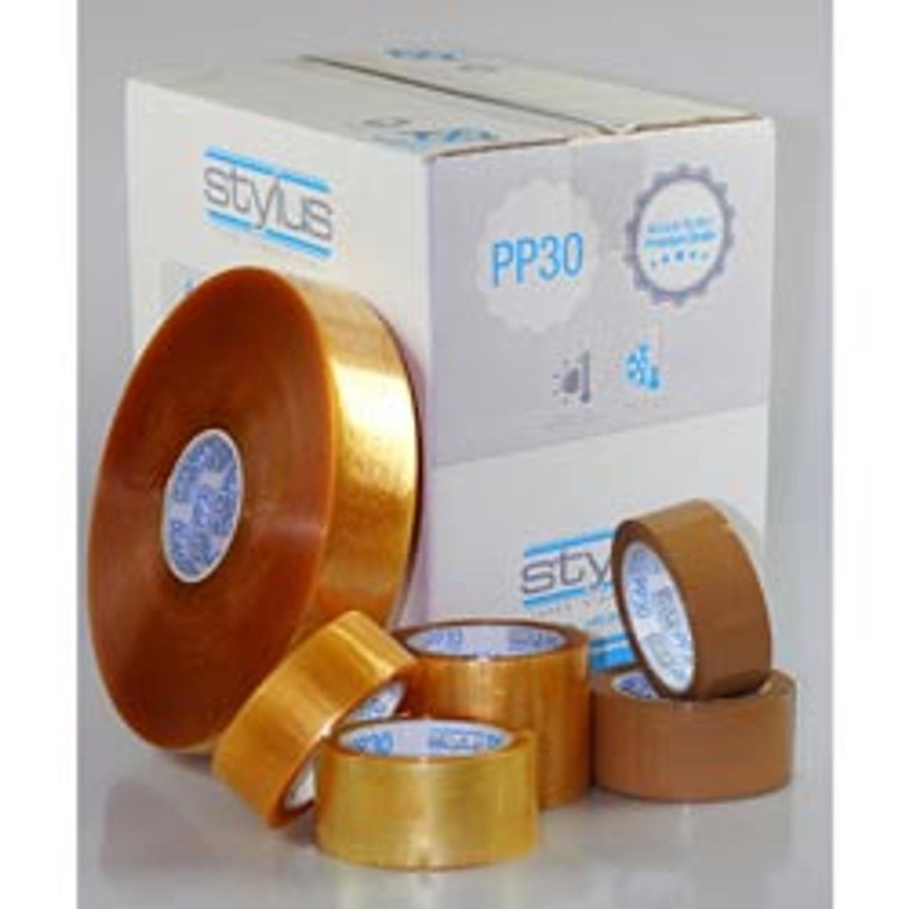 Stylus Pp30 Packaging Tape Transparent 48mmx1000m 1 Carton 6 Rolls Per Ctn Nuprint Office Choice