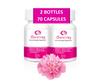 Boric Acid Suppository Capsules | 70 Capsules | No Filler