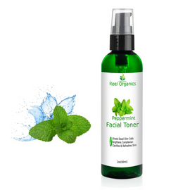 Organic Peppermint Facial Toner | Aloe vera, Peppermint and Cranberry Extracts | Organic Ingredients