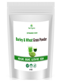 Barley and Wheat Grass Powder