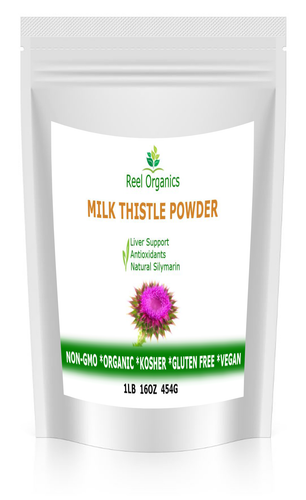 Organic Milk Thistle Seed Powder