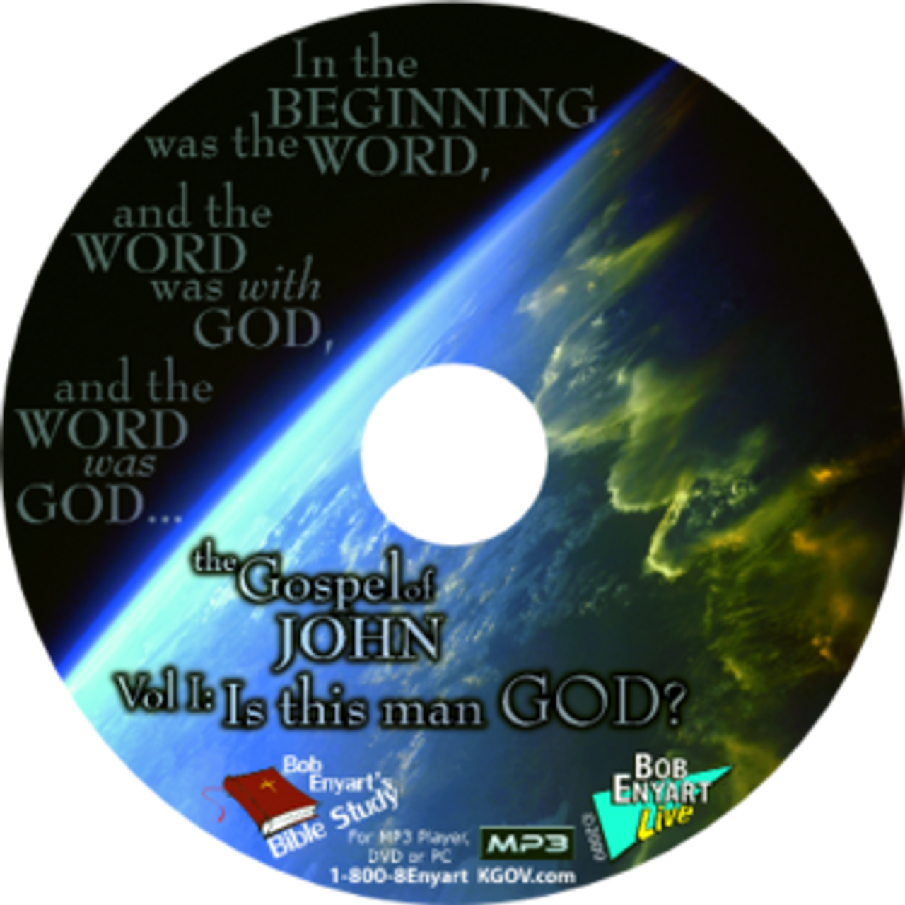 Listen to Bob's verse-by-verse study of the Gospel of John in 3 volumes.