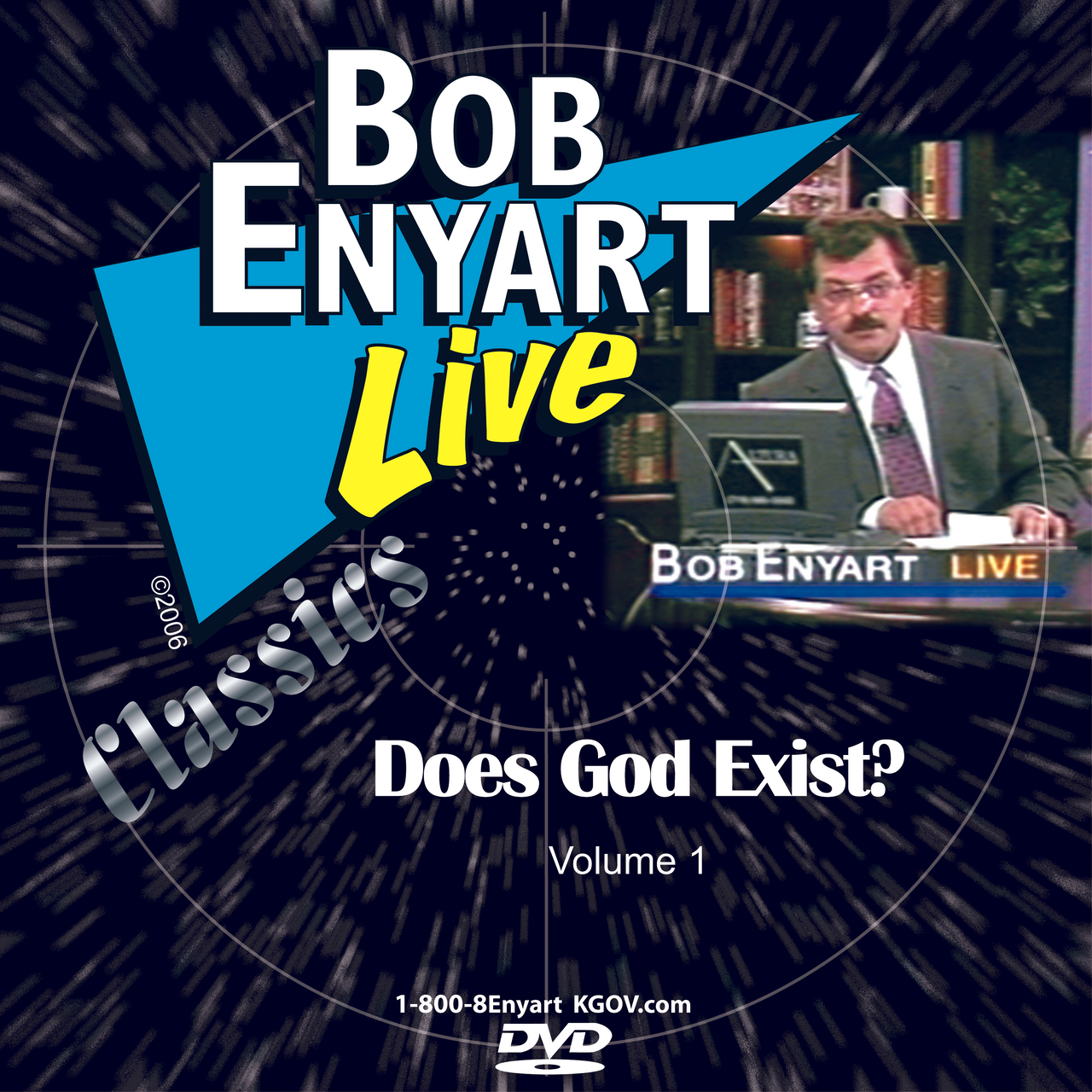 BEL DVD titled Does God Exist, Vol. 1