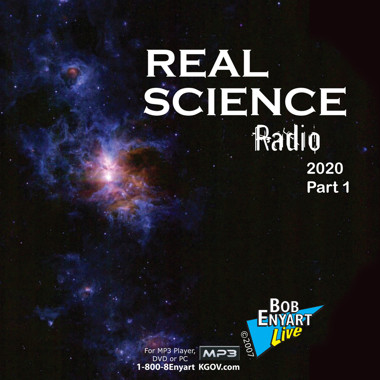 Real Science Radio all 2020 shows on 2 MP3 CDs