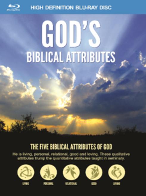 God's Biblical Attributes 2-Blu-ray or DVD set
