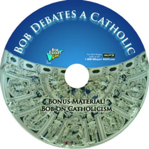 Bob Debates a Catholic MP3-CD or MP3 Download