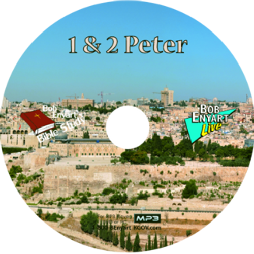 1 & 2 Peter MP3-CD or MP3 Download